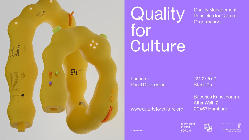 Save the Date: Quality for Culture – Launch + Panel Discussion on 12/12/2019